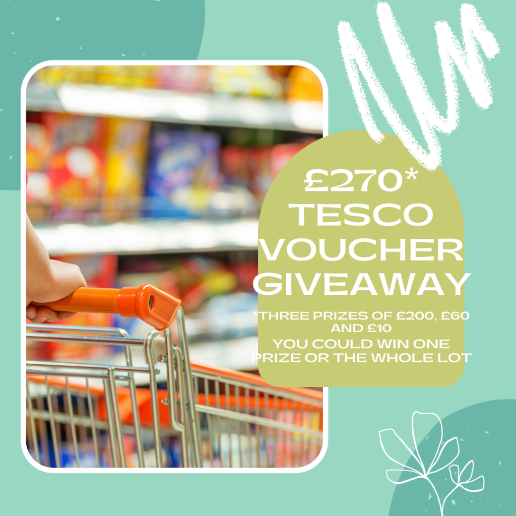 How To Win £270 Tesco Vouchers For A Camping Trip
